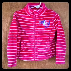 Roxy Girls | pink fleece jacket 2T LIKE NEW